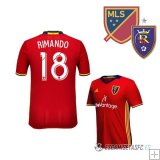 Camiseta Real Salt Lake 1ª Jugador Rimando 2016/2017