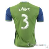 Camiseta Seattle Sounders 1ª 2016/2017 Evans