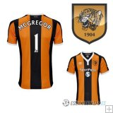 Camiseta Hull City 1ª Jugador Mcgregor 2016/2017
