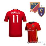 Camiseta Real Salt Lake 1ª Jugador Morales 2016/2017