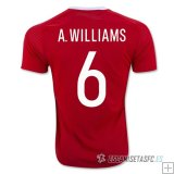 Camiseta Wells 1ª 2016/2017 A.Williams