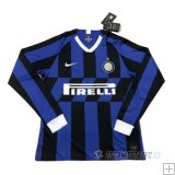 Camiseta Inter Milan 1ª Manga Larga 2019/2020