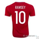 Camiseta Wells 1ª 2016/2017 Ramsey