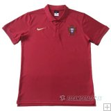 Camiseta Polo del Portugal 2018 Rojo