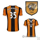 Camiseta Hull City 1ª Jugador Mannion 2016/2017