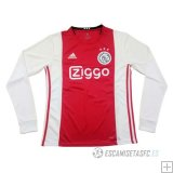 Camiseta Ajax 1ª Manga Larga 2019/2020