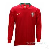 Camiseta Portugal 1ª Manga Larga 2018