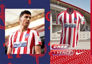 Camiseta Atletico Madrid 2019 2020