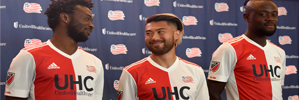 Camiseta New England Revolution 2017 2018